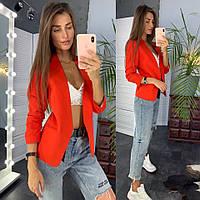 Стильный женский пиджак на подкладке, фото 1