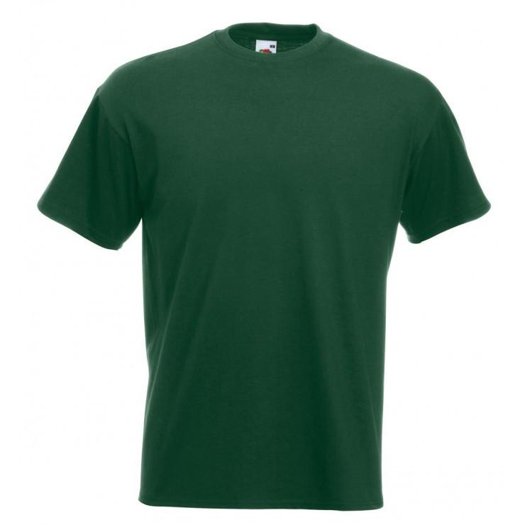 Чоловіча футболка преміум темно-зелена 044-38