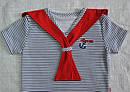 Детская хлопковая футболка Морячок (Nicol, Польша), фото 2