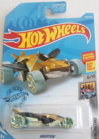 Машинка Hot Wheels 2019 Airuption
