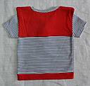 Детская хлопковая футболка Морячок (Nicol, Польша), фото 3