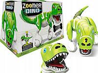 Интерактивная игрушка Зумер Дино зеленый Робот-динозавр Zoomer Dino  Spin Master