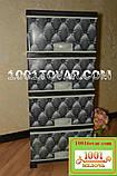 """Комод пластиковий Elif, з малюнком """"Диван коричневий"""", 4 ящики (Еліф), фото 4"""