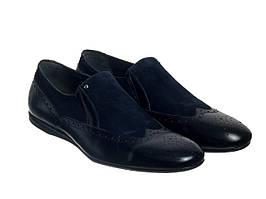 Туфли Etor 13420-095 синие