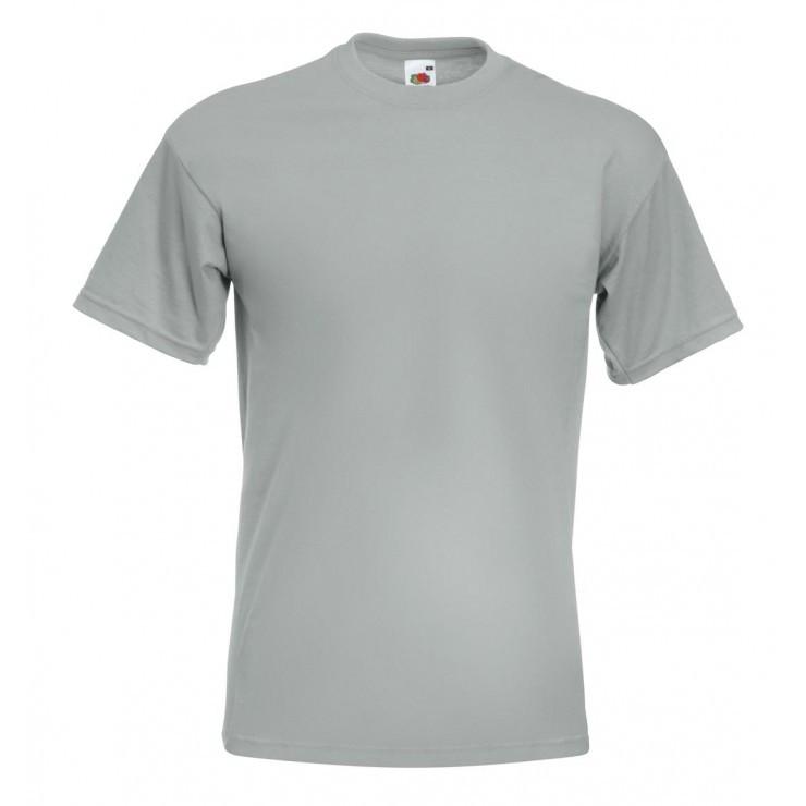 Мужская футболка премиум серая 044-XW