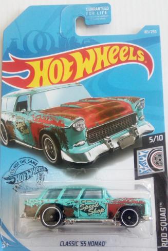 Машинка Hot Wheels 2019 Classic '55 Nomad