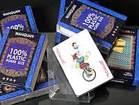 Покерные карты водонепроницаемые пластиковые