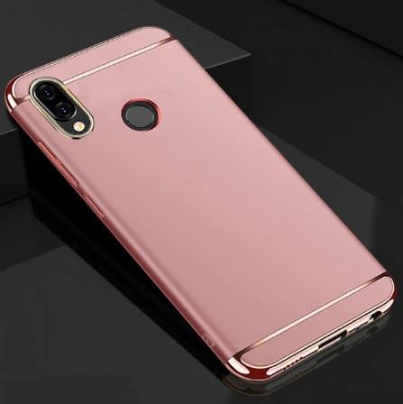 Чехол с золотыми вставками для Samsung A30 2019 / A305F Розовый