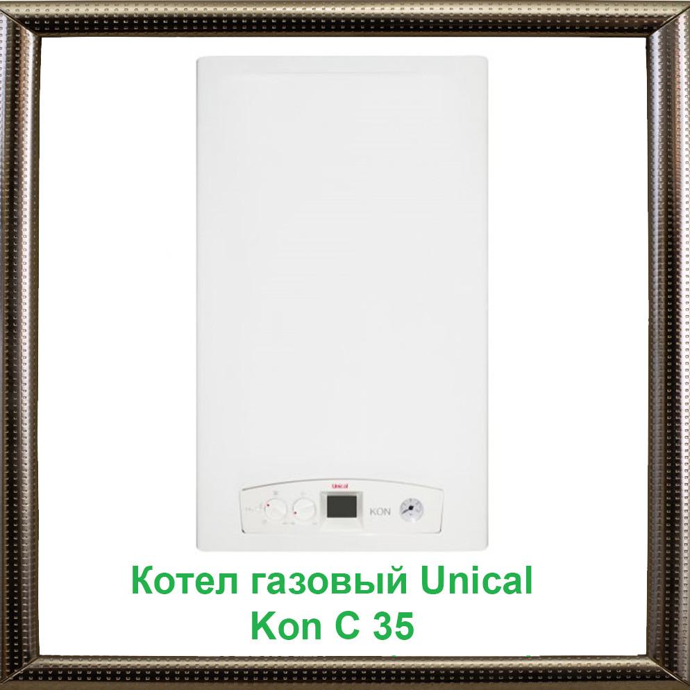 Газовый конденсационный котел Unical Kon C 35