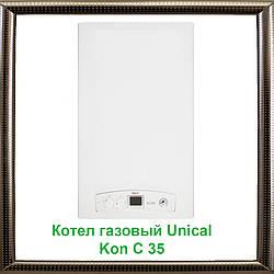Газовий конденсаційний котел Unical Kon C 35