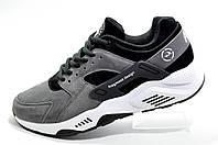 Кроссовки мужские в стиле Nike Air Huarache, Gray\Серые