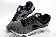 Кроссовки мужские в стиле Nike Air Huarache, Gray\Серые, фото 2