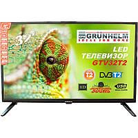 Телевизор GRUNHELM GTV32HDO1T2 32 дюйма