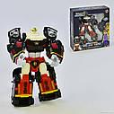 Трансформер Tobot Полицейский Mini Police Tron 521 - высота 19 см, фото 2