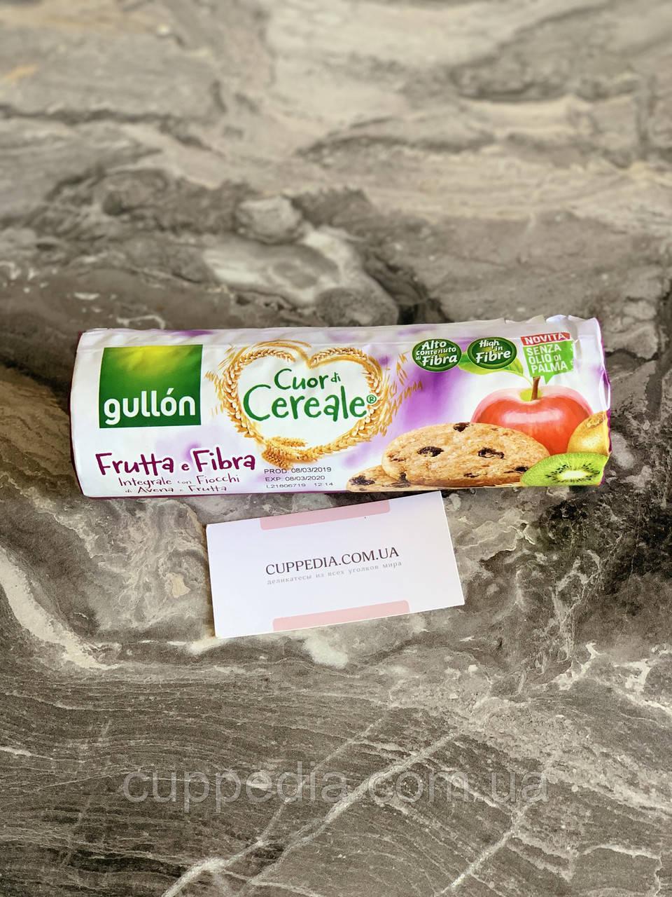 Печиво Gullon Cuor di cereale Frutta e Fibra 300 грм