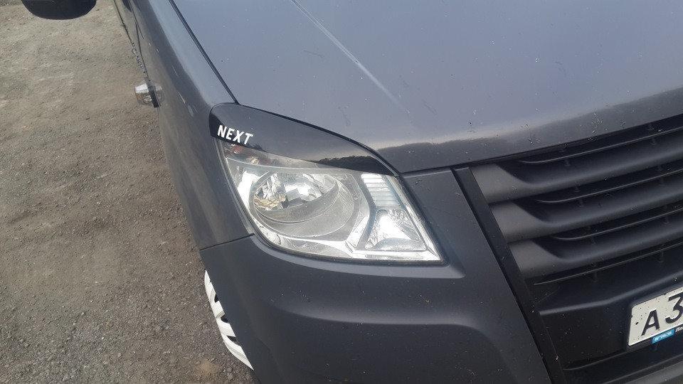"""Реснички фар Газель Next с 2013 """"Anv-Air"""""""