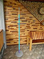 Вішалка дерев'яна ручна робота в дитячу кімнату 1,8 м