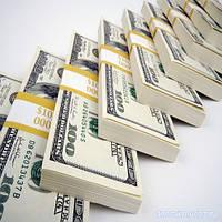 100 $ долларов - сувенирные деньги