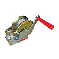 ✅ Лебедка рычажная на 450 кг барабанная INTERTOOL GT1454 (стальной тросс)