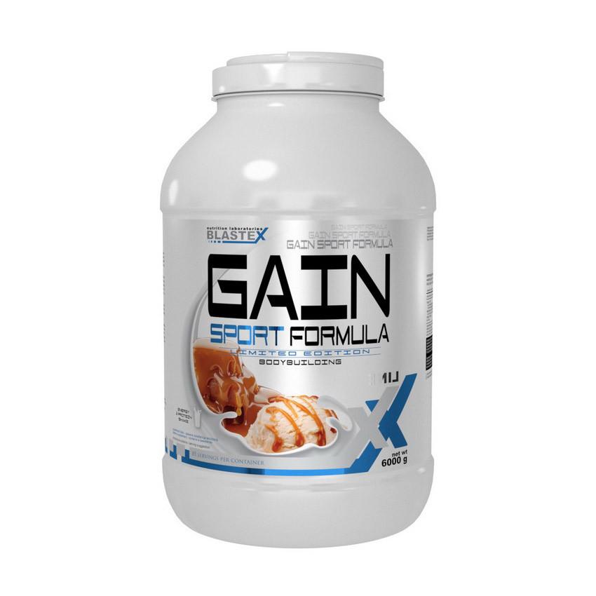 Гейнер для набора массы Blastex Gain Sport Formula (6 кг) бластекс гейн спорт chocolate caramel peanut