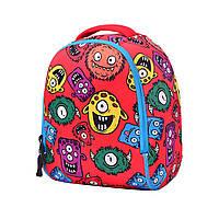 Детский рюкзак Гадзила красный