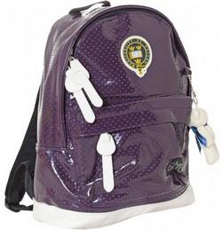 """Рюкзак """"Оксфорд"""" 551981, 23.5*12*32см, фиолетовый"""