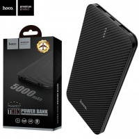 Power Bank Hoco B37 Persistent mobile 5000 mAh Original (с двойным USB) черный
