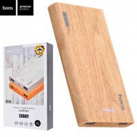 Power Bank Hoco B36 Wooden mobile 13000 mAh Original Oak Wood (двойной USB выход)