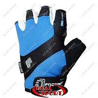 Велоперчатки Pro Speed FR-1202, синие