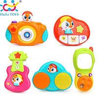 ✅ Комплект подвесных музыкальных игрушек Huile Toys 5 шт. (3111)