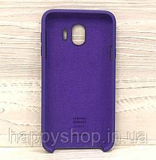 Оригинальный чехол Soft touch для Samsung Galaxy J4 2018 (J400) Фиолетовый, фото 2