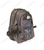 Оптом рюкзак школьный/городской для мальчика  - Коричневый - 3236