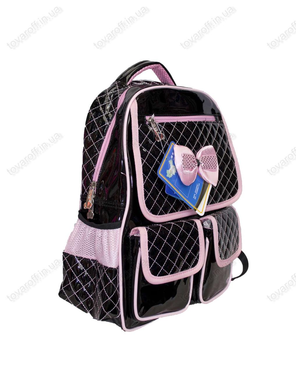 Черно-розовые рюкзаки, сумки чемоданы-каталог
