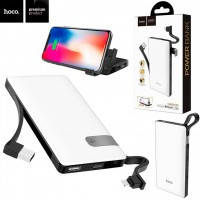 Power Bank Hoco J36 Ample Energy With Cable Lightning 10000 mAh Original белый