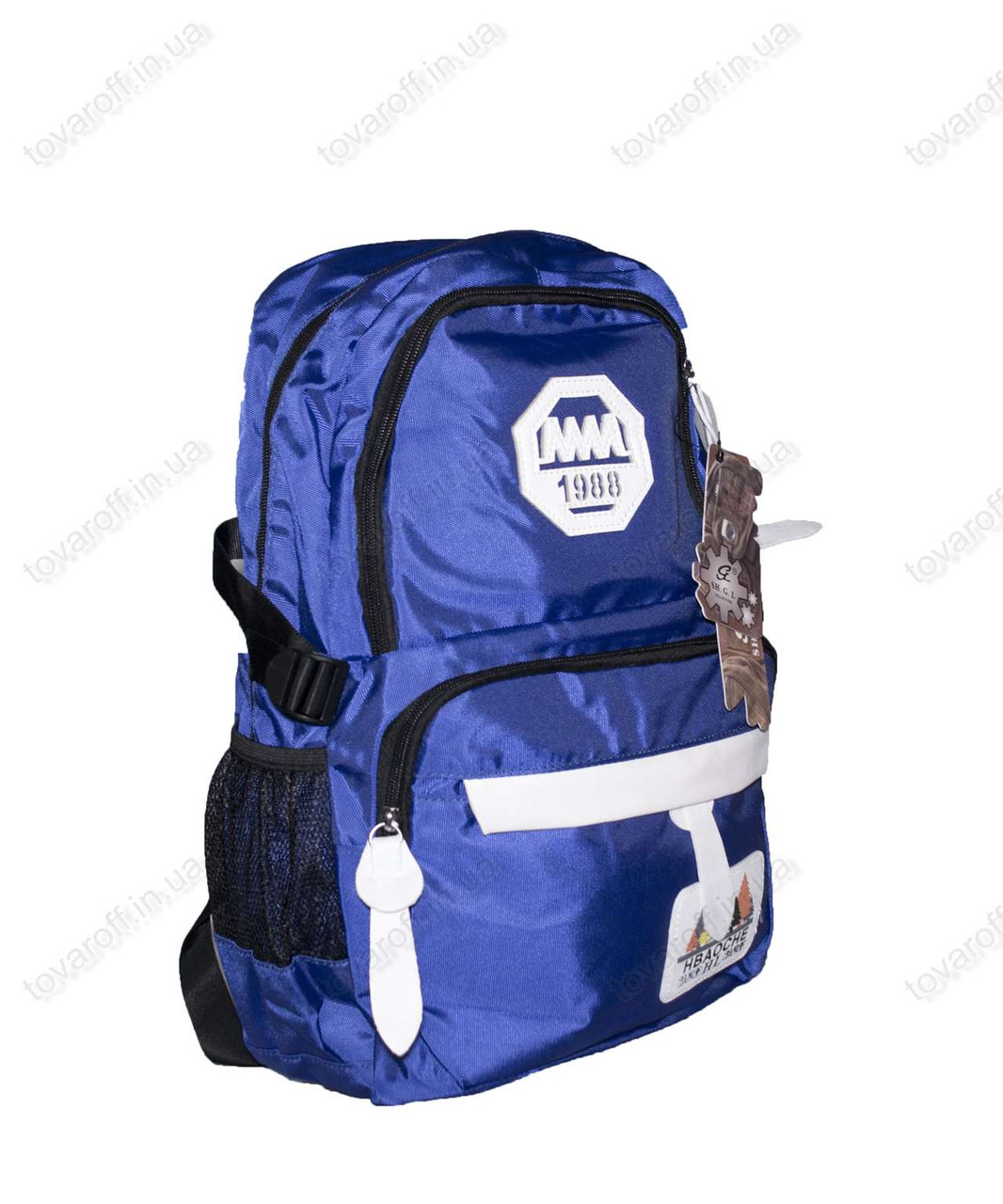 Оптом рюкзак школьный/спортивный - Синий - 901