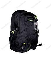 Оптом рюкзак школьный/спортивный - Черно-салатовый - 8008