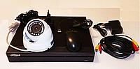 Комплект видеонаблюдения в офис на одну камеру с регистратором, фото 1