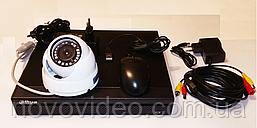 Комплект видеонаблюдения в офис на одну камеру с регистратором