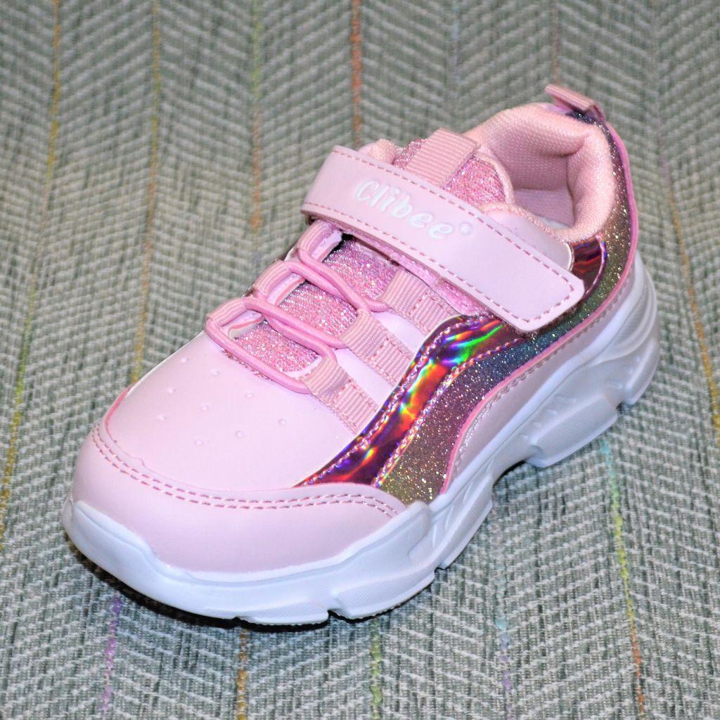 Детские кроссовки девочка, Clibee размер 25 26 30