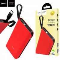 Power Bank Hoco J25B With Cable Type-C 10000 mAh Original красный
