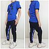 Современные спортивные брюки от VVK_PRO_SPORT Синий/электрик