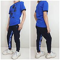 Современные спортивные брюки от VVK_PRO_SPORT Синий/электрик, фото 1