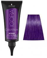 Краска для волос прямого действия Schwarzkopf Professional Igora ColorWorx - Сиреневый - 100мл