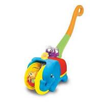 Каталка Kiddieland Слон-циркач (049759) для хлопчиків, для дівчаток