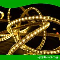 Dilux - Светодиодная лента SMD 3014 60шт/м IP67 220В теплая белая