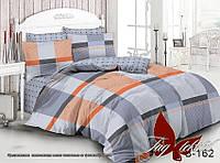 ✅ Двуспальный комплект постельного белья (Люкс-сатин) TAG S162