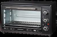 ✅ Электродуховка настольная(печь электрическая) (1800 Вт, 35л, таймер) Liberton LEO-351 Black