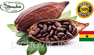 Бобы какао сырые TM TouTon (Гана) вес:1 кг.