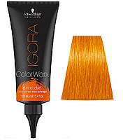 Краска для волос прямого действия Schwarzkopf Professional Igora ColorWorx - Оранжевый - 100мл