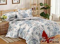 ✅ Полуторный комплект постельного белья (Люкс-сатин) TAG S198